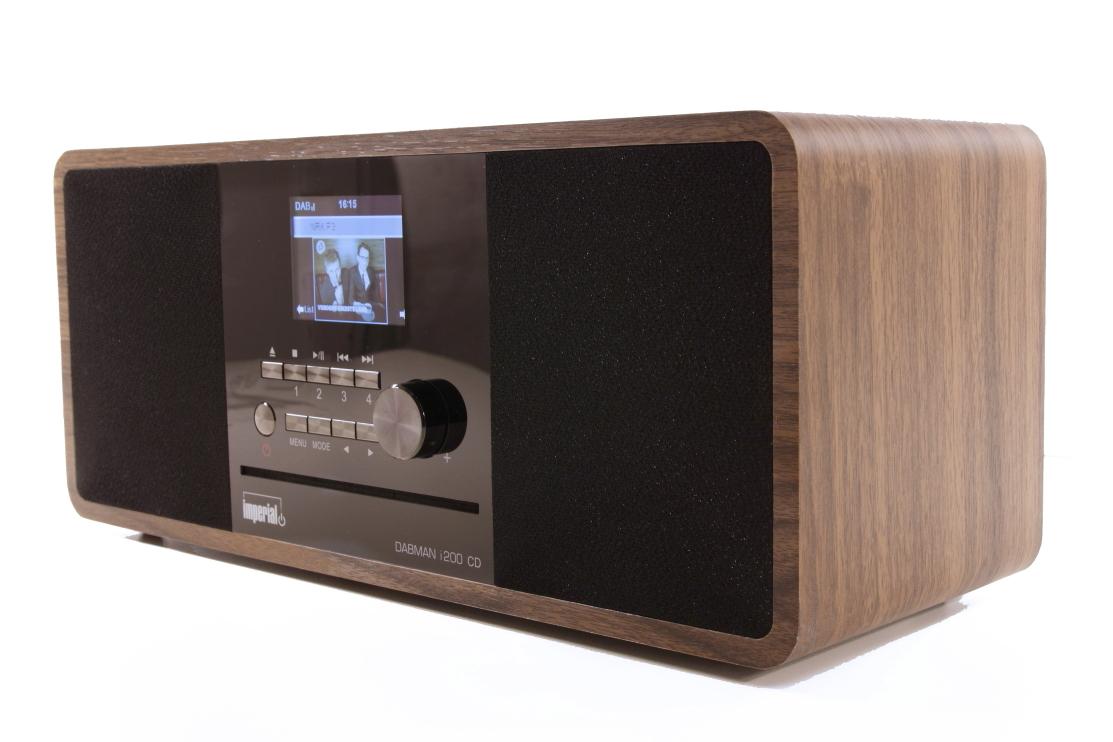 Ubrugte IMPERIAl i200 - DAB+ Radio med CD Spiller - Center Sound VI-66