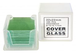 Dekkglass Objektglass 100 Stk.22x22mm – For Bresser Mikroskop 8483725313f3d